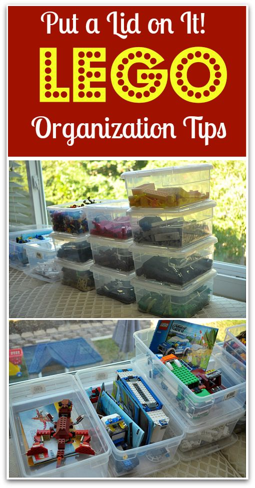 Lego organization tips