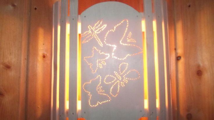 Lampenschirm Holzblendschirm Saunalampe Sauna Saunalicht Saunaleuchte,Neu,vlasve