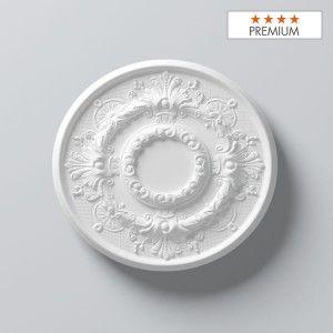 """Rosace M79 Polyuréthane Decoflair - diamètre 550 mm - Pack 1 x 1 p - Qualité """"Premium"""""""
