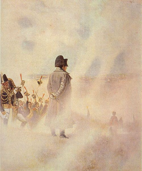 """Napoleon Near Moscow, Waiting for a Boyar Deputation,"" by Vasili Vereshchagin"