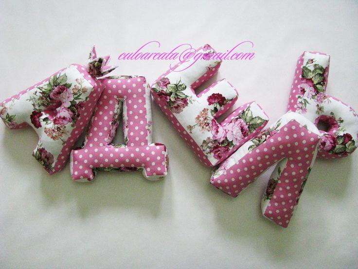 Pillow Decorative Letter АДЕЛЬ #pillow #letter #decor #name #pink #АДЕЛЬ