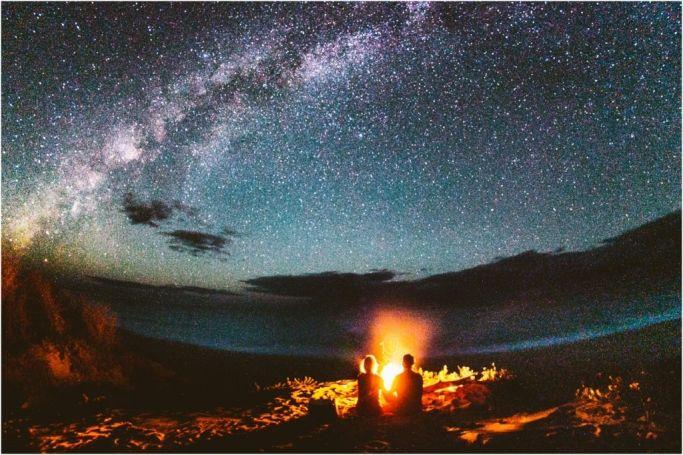 Camping under the stars on the beach in Kauai Hawaii!! Beach Campfires - Dream vacation:)