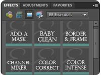 Free actions for Photoshop Elements and Photoshop.   Everyday Elements