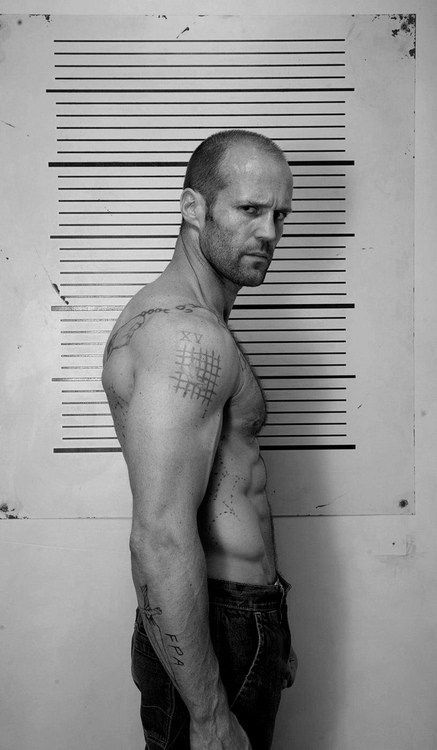 Jason Statham with Finely Cut Hair