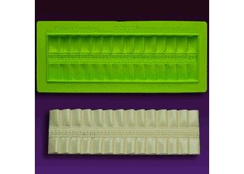 #CakeDecorating #Shop Pretty In #Pleats #Cake #Border By Silicone Plastique http://www.mycakedecoratingshop.co.uk/cake-cupcake-shop/cake-cupcake-decorating-shop/marvelous-moulds-by-silicone-plastique/pretty-in-pleats-cake-border-by-silicone-plastique