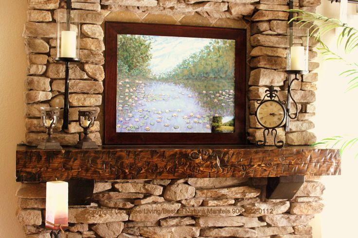 17 Best Images About Dyi Mantel Piece Ideas On Pinterest Rustic Wood Shelves And Stone Fireplaces