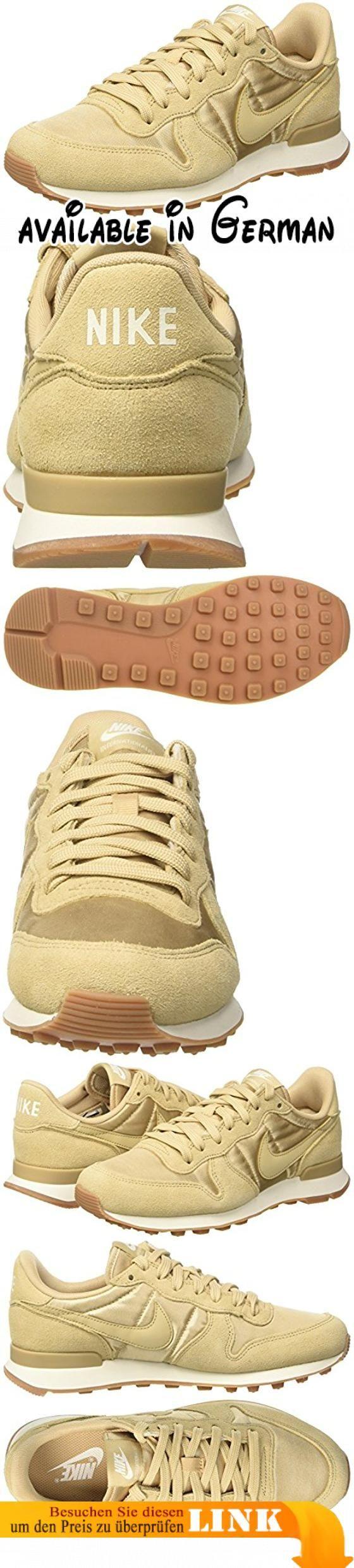 Nike Damen Wmns Internationalist Low-Top, Beige (Linen/Linen/Sail), 37.5 EU. Obermaterial: Leder/Textil. Innenmaterial: Synthetik. Sohle: Gummi. Verschluss: Schnürsenkel. Schuhbreite: Normal #Shoes #SHOES