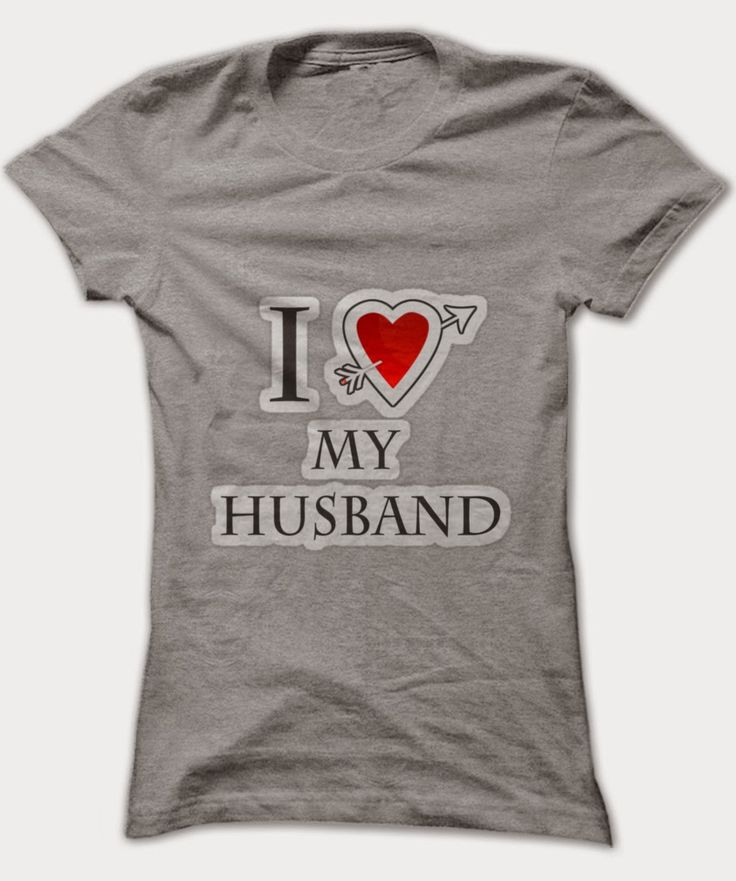 I heart my husband t-shirt | Fashion of My Dreams