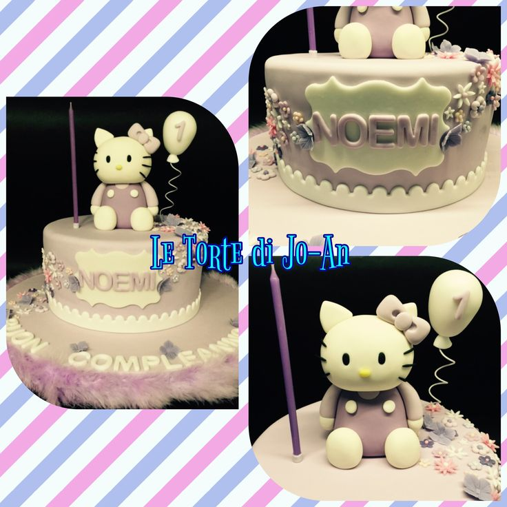Hello Kitty lilla glicine