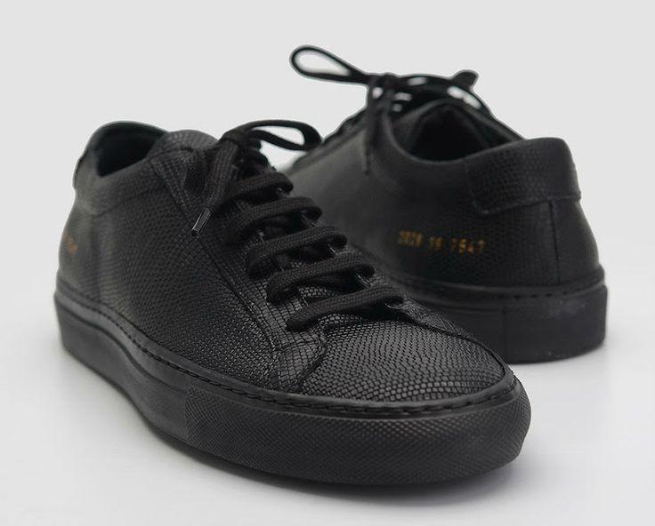 "http://SneakersCartel.com Common Projects Achilles ""Triple Black"" #sneakers #shoes #kicks #jordan #lebron #nba #nike #adidas #reebok #airjordan #sneakerhead #fashion #sneakerscartel"