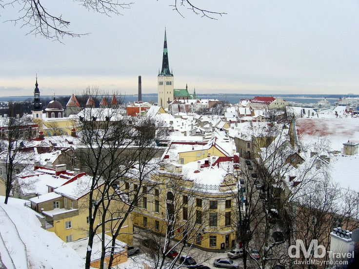 Old Town, Tallinn, Estonia | dMb Travel - Travel with davidMbyrne.com