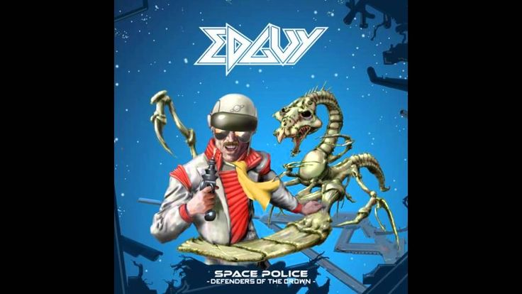 Edguy - Space Police - Defenders Of The Crown FULL ALBUM