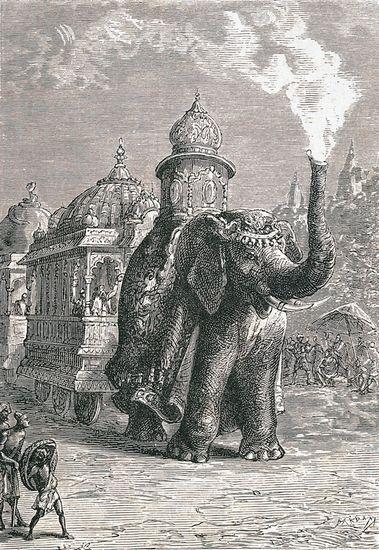 Jules Verne, la Maison à vapeur