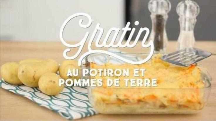 Recette gratin potiron : Les meilleures recettes sur CuisineAZ