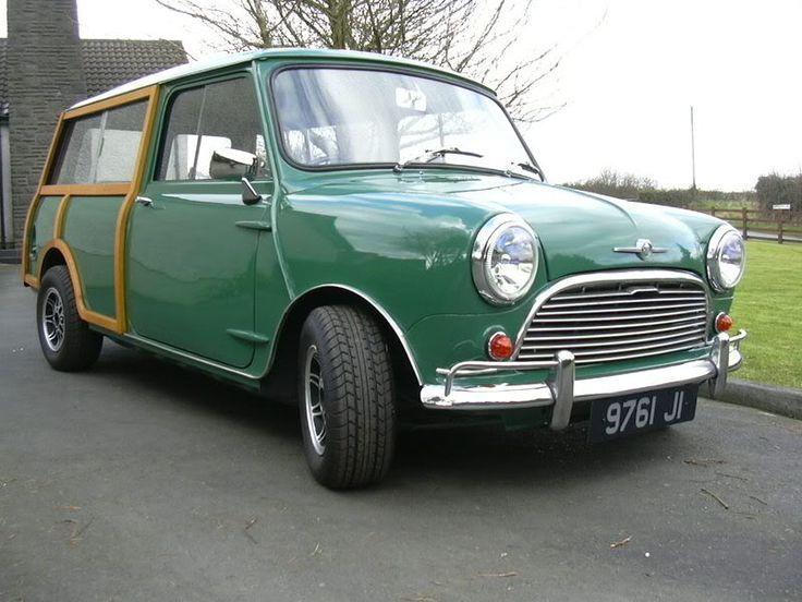 1967 mini morris truck - photo #4
