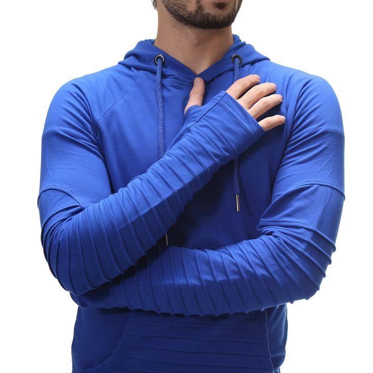 Erkek Giyim Eldivenli Kapüşonlu Sweatshirt 1475 GittiGidiyor'da 208034513