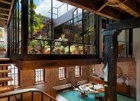 Un almacén convertido en un asombroso loft