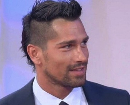 Marco Borriello voted sexiest player in Italian soccer.
