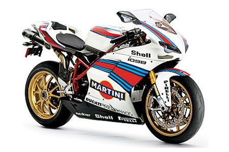 ducati 1098 - Martini racing colours