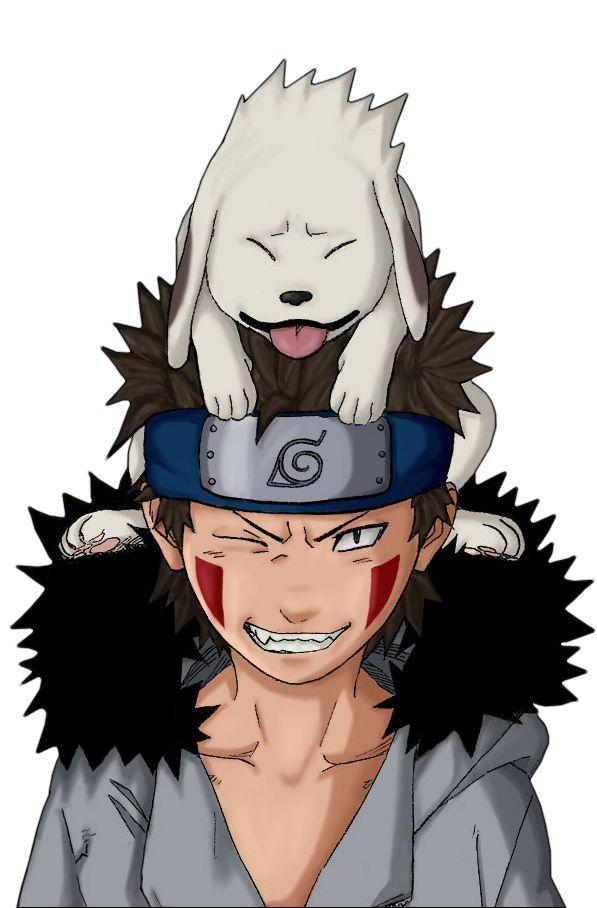 O único personagem de anime que se parece um pouco comigo até as marca no rosto só não tenho um cachorro kk