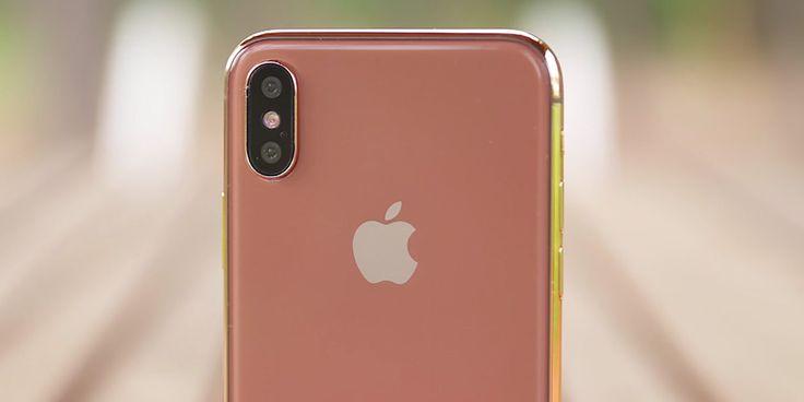Új színben jelenhet meg az iPhone X