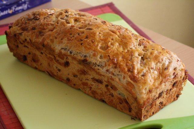 Das Perfekte Brot Schinken Kase Rezept Mit Bild Und Einfacher Schritt Fur Schritt Anleitung Das Mehl In Eine Brot Ohne Hefe Rezepte Brot Backen Rezept Einfach