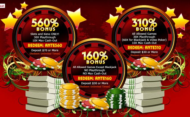 March 2016 Promo Bonus Coupon Codes | Palace of Chance Casino