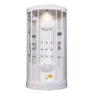 Steam Shower Enclosure Kit With