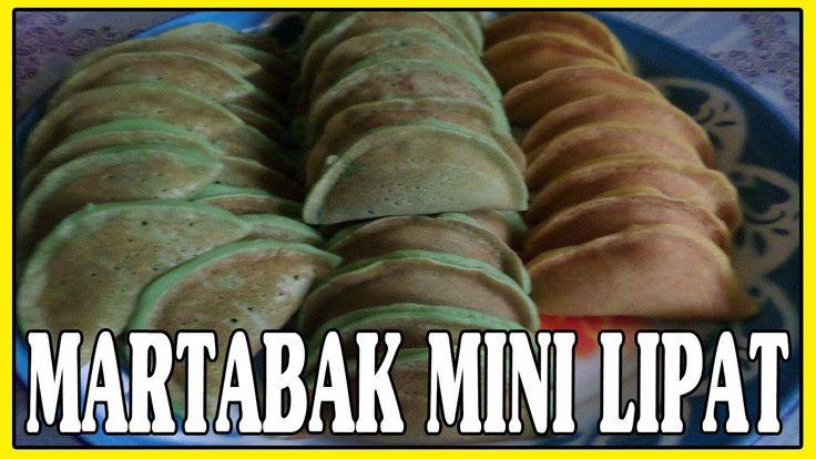 How to make simple fold pancake, indonesian dish.