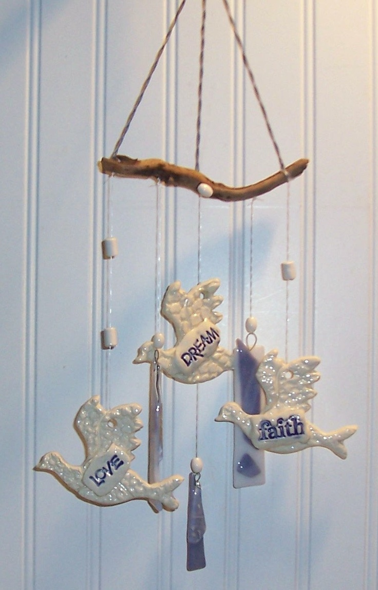 clay wind chimes