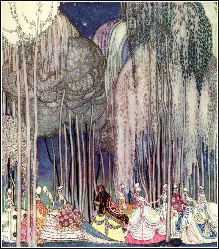 In Powder and Crinoline | Kay Nielsen