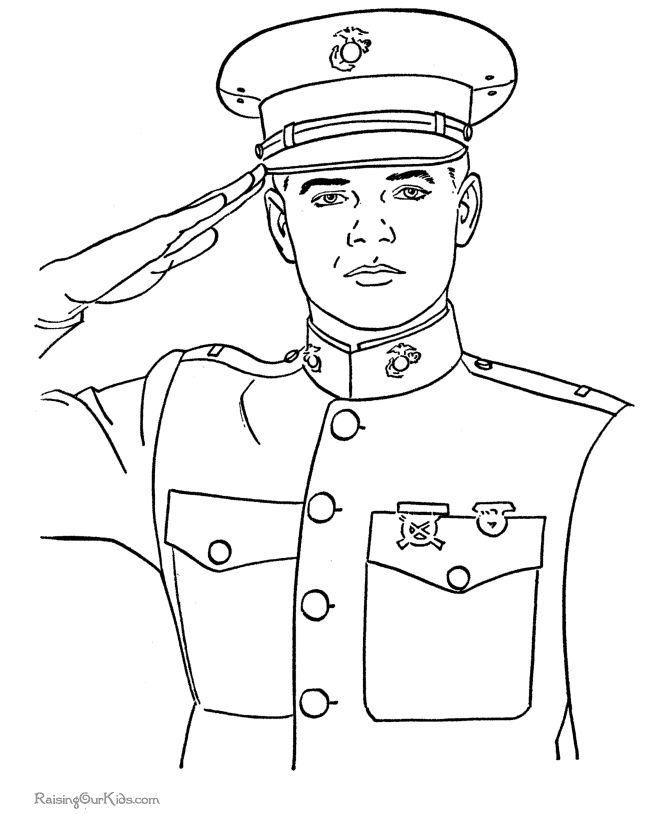 Memorial Day coloring pages - Free and printable - A Day of Remembrance