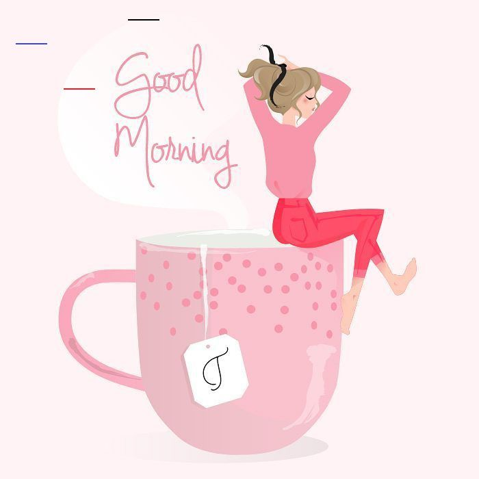 Virginia Gm Illustration On Instagram J Espere Que Vous Avez Passe Un Tres Bon Weekend Belle Sema Good Morning Greetings Good Morning Happy Monday Morning