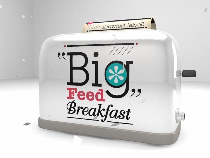 """""""Big feed Breakfast"""" TV intro."""