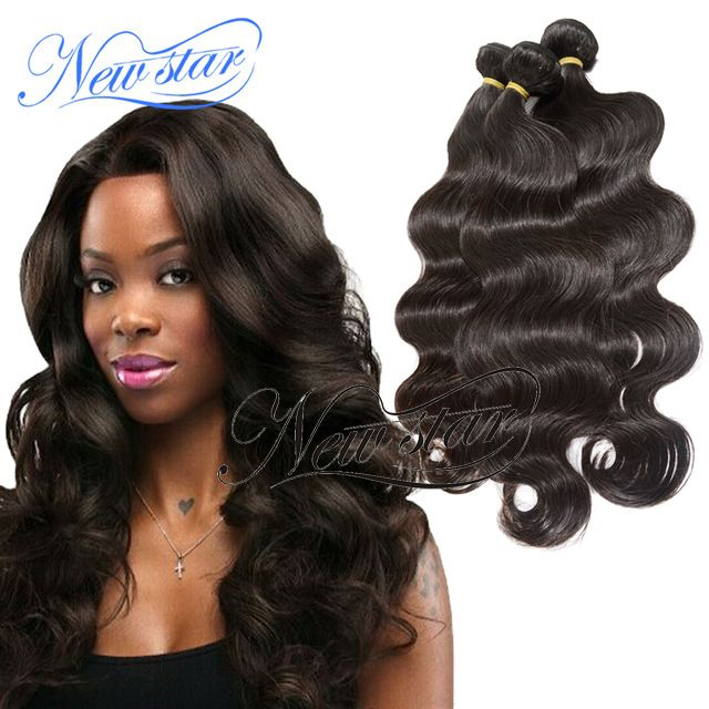 Malaysian Virgin Hair 3 Bundles - New Star Malaysian body wave weave hair, length from 10 to 34 include(16,18,20,22) and color natural dark and brown. We have better body style hair than most of other hair stores online, here is the right place for no doubt. Body wave sells well and here you can get the most sexy body wave hair, they could match your hair perfectly. We highly recommend you buy 3 to 4 bundles in different length to gain a full head appearance.
