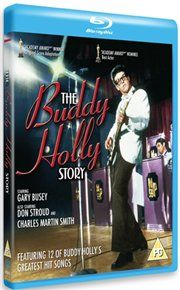 Buddy Holly Story Gary Busey stars in this biopic of Fifties rock n roller Buddy Holly whose career was tragically cut short when he died in the infamous 1959 plane crash. Holly grows up in the redneck Texan community  http://www.MightGet.com/january-2017-12/buddy-holly-story.asp