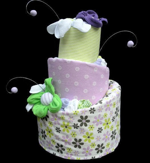 How To Make Baby Shower Diaper Cake: How To Make A Baby Shower Diaper Cake