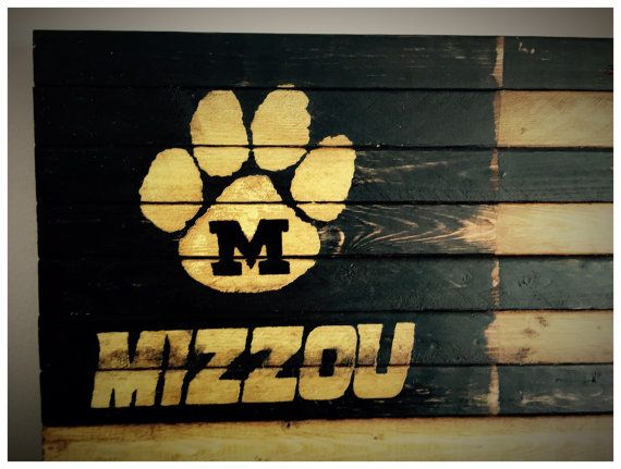 Missouri Tigers Missouri Tigers Alumni Sign by AmericanFlagShop
