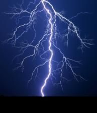 lightning   http://www.quickanddirtytips.com/education/science/what-causes-lightning-bolts