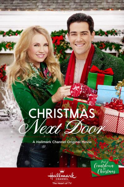 Christmas Next Door (2017) Jesse Metcalfe stars as Eric, a bachelor and Christmas grinch, who suddenly has to look after his niece and nephew which forces him to call on the help of his Christmas loving neighbour April (Fiona Gubelmann)