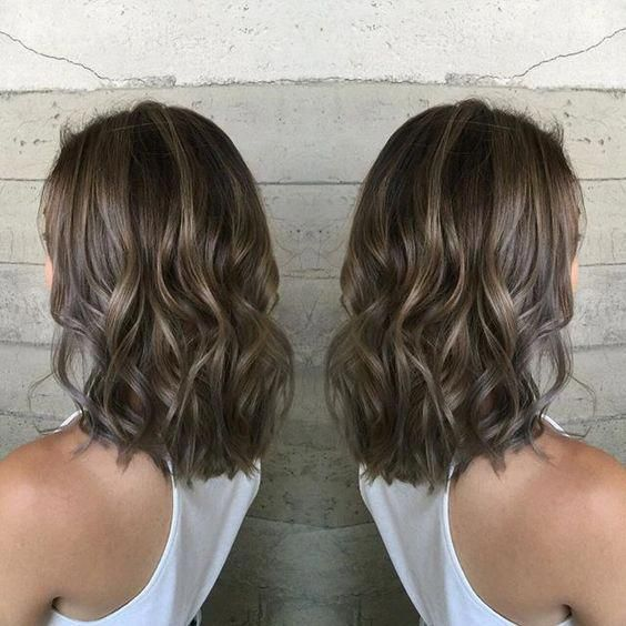 21  Best Ash Brown Hair Color Ideas 2017 - Page 10 of 22 - The Styles | The Styles | 2017 The Best Style for Women #brownhairbalayage