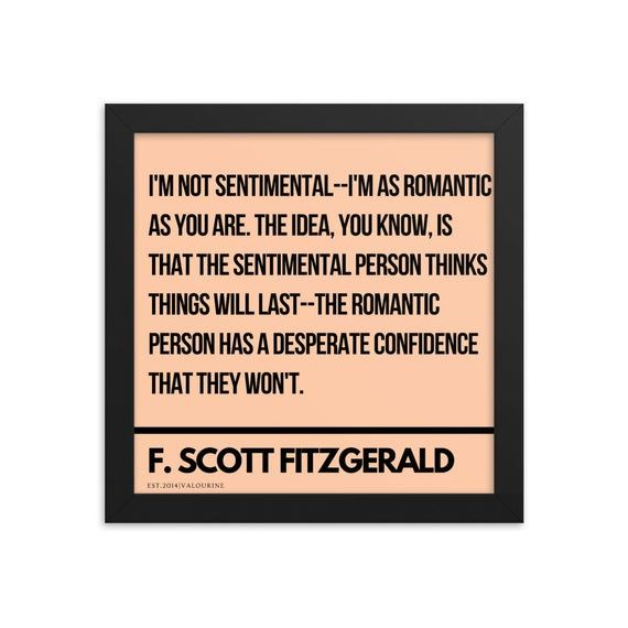 11 F Scott Fitzgerald Quote 201016 Framed Print Poster Inspirational Motivational Quotes Literature Literary Writer Wall Decor In 2020 Inspirational Quotes Motivation Motivational Quotes Fitzgerald Quotes