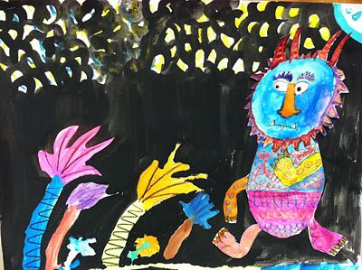 we heart art: where OUR wild things are!