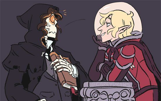 Taako literally flirts with death