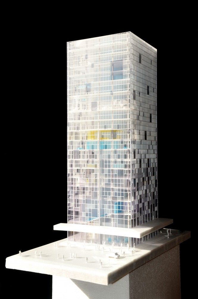 SSI - ATELIERS BEAU REGARD ARCHITECTURE - Tower - Office - Lanzhou - China