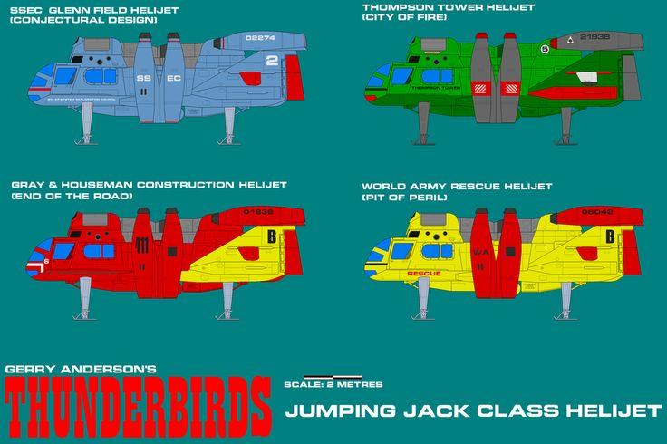 Gerry Andersons Thunderbirds Helijets 01 by ArthurTwosheds.deviantart.com on @DeviantArt