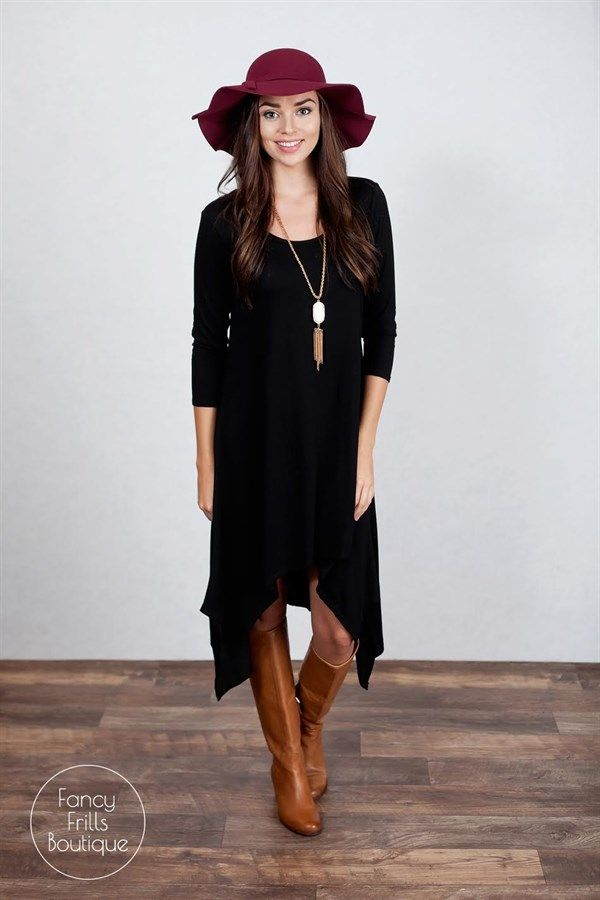 Fall High Low Knit Dress! | Jane
