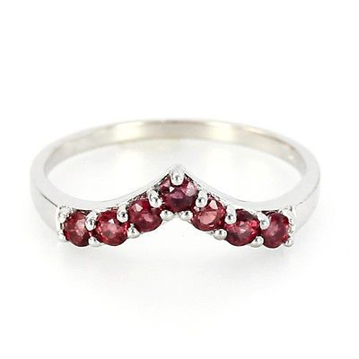 Sunset Sapphire 925 Sterling Silver Ring - Size 12.5 - 13