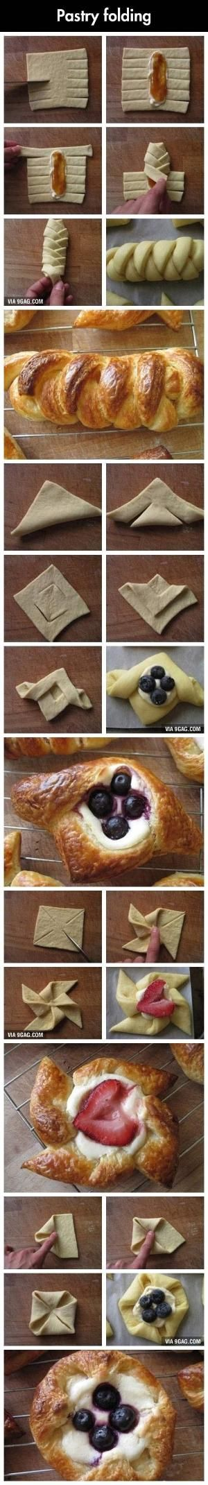 Awesome Dessert Designs- Pastry folding by connie