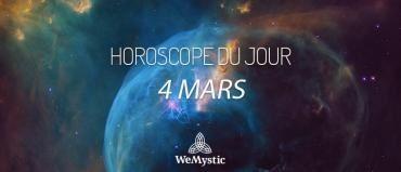 Horoscope du Jour du 5 mars 2018 : que vous réservent les planètes aujourd'hui ? Les prévisions dans les domaines amoureux, professionnel et financier.